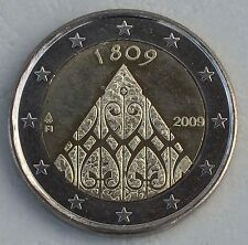 "2 euro Finlande 2009"" 200 J. autonomie ""unz"