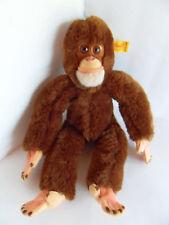 Steiff monkey chimpanzee button flag stuffed animal made in  Germany 2257