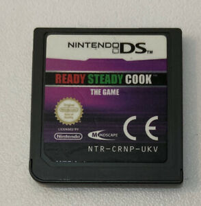 Ready, Steady, Cook The Game (Nintendo DS, 2009) Cart Only