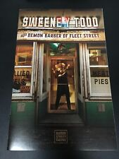 Sweeney Todd Off-Broadway Playbill (March 2017)