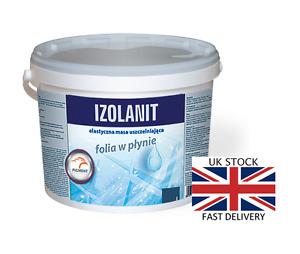 1.5kg-30kg IZOLANIT Waterproof Tanking Membrane Liquid Foil Wet Shower Bath Room