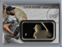 Clayton Kershaw 2019 Topps 150th Golden Anniversary Limited Edition Card