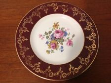 Set of Four Vintage Rose Pattern Plates Empire Porcelain Company Staffordshire