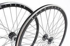 KHE Fixie Set ruote bicicletta 700c STOCCAGGIO INDUSTRIALE 40mm nero con
