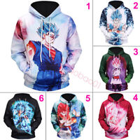 Dragon Ball Z Pullover Sweater Son Goku Vegeta 3D Hoodies Outerwear Sweatshirts