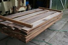 """100 bd ft 4/4 Walnut Lumber, KD, S2S to 15/16"""", #1 Common Grade, 8' lengths"""