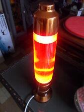 Vintage flakes lamp ancienne lampe a paillettes deco design 70's space age
