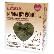 Rosewood Naturals Rabbit, Guinea Pig, Degu Chinchilla Meadow Hay Cookies 1kg Box