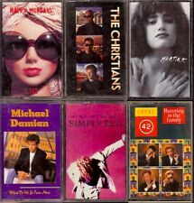 LOT 11 Cassette Tapes PLAY TESTED Electronic Pop Rock HAPPY MONDAYS MARTIKA SNAP