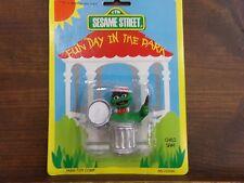 Sesame Street Fun Day In the Park Action Figure Oscar the Grouch ~ NEW  Tara