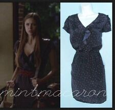 Jessica Simpson Ellington Schuh Print Dress ASO Elena Gilbert Vampire Diaries S