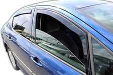 PEUGEOT 407 limousine 2004-2011 Deflecteurs d'air Déflecteurs de vent 4pcs