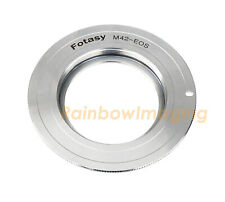 Copper M42 Screw Mount Lens to Canon Adapter fits 4000D 1500D 1300D 1200D 1100D