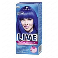 Schwarzkopf Live Ultra Brights or Pastel Semi Permanent Hair Color Different Col