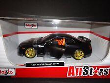 Maisto Nissan GT-R R35 2009 NEGRO MATE All-Stars 1/24