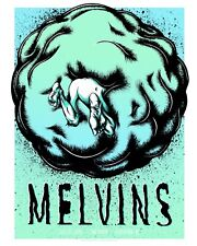 MELVINS - 18x24 screenprint artist-signed show poster - Vancouver, BC 2018
