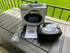 Jensen Portable Bluetooth Cd Player Am/Fm Receiver With Instructions And In Box