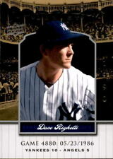 2008 Upper Deck Yankee Stadium Legacy Collection #4880 Dave Righetti (ref 18346)