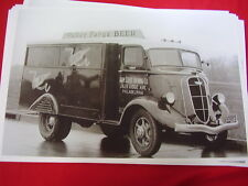 1936 STUDEBAKER VALLEY FORGE BEER TRUCK PHILDELPHIA PA  11 X 17  PHOTO   PICTURE