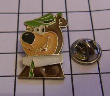 YOGI BEAR variant 7 HANNA BARBERA 1988 vintage pin badge Z4X