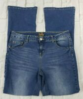 Justice Girls Jeans Simply Low Boot Cut Size 16 1/2