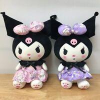 KUROMI TIDDY goth 20cm Stuffed plush toy Anime Cartoon game super soft new doll