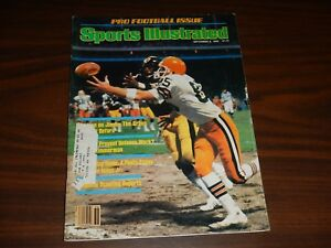 Sports Illustrated September 8, 1980; Pro Football Issue; Line on the Greek