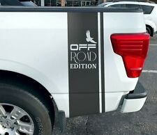4x4 Off road Edition Truck Decals Truck Stripes Vinyl Graphics Rear Bed Eagle x2