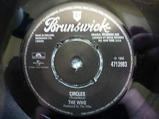 """THE WHO 45 RPM 7"""" - Circles / Instant Party Mixture"""