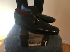 Mens  prom dress shoes size10.5 E leather outer  and leather lining
