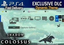Shadow of the Colossus Dynamic Theme | Wander | PS4 DLC | PlayStation 4 Theme E3
