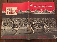 """1964 """"RARE"""" AFL All-Star Game Football Program/MIX/ALWORTH/OTTO/KEMP/BUONICONTI"""