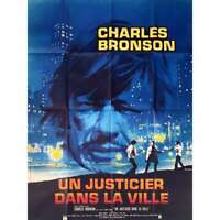 DEATH WISH Original French Movie Poster - 47x63 in. - 1974 -  Charles Bronson