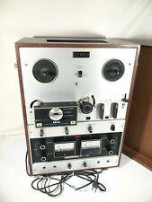 Akai Reel To Reel Player Vintage Model M10 CrossField 3 Motor Made In Japan