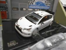 Citroen c4 WRC White rallye SPEC White Plainbody + wheelset pour transformation Ixo 1:43