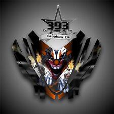 Arctic Cat M7 M8 M1000 Crossfire 05-11 Graphics Decal kit Hood Evil Joker Orange