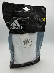 NEW Adidas KP Elite Knee Pads Volleyball AH4841 Unisex Size Large White
