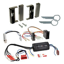 Audi TT (8N) Bose 98-06 1-DIN Autoradio Einbauset Adapter Kabel Radioblende