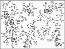 Genuine Mercedes Hexalobular Bolt 5pcs W222 V222 X222 0019846329