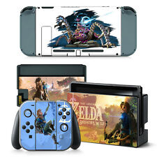 Nintendo Switch Console Joy-Con Skin Decal Sticker Zelda Custom Design Set