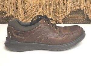 Men's Clarks COTRELL EDGE 26119804 Tobacco Lace-Up Shoes SIZE 9.5
