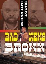 Bad News Brown Shoot Interview DVD, Stampede WWF NJPW WWE Wrestling