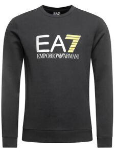 EA7 Emporio Armani Sweatshirt Pullover Grau XXL
