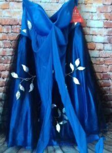 jasmine blue party dress size 14