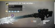 Destiny 2 Whisper of the Worm Black Spindle Xbox 1