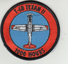 VT-27 T-6B TEXAN II 1000 HOURS SHOULDER PATCH
