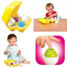 Baby Learning Toy Kids Toddler Boy & Girl Hide 'n' Squeak Eggs Child Game Gift