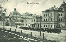 ukraine romania, CERNĂUȚI CHERNIVTSI CZERNOWITZ, Gare, Railway Station (1928)
