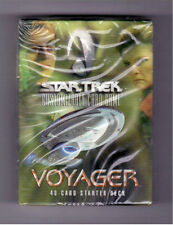 Star Trek CCG Voyager Sealed Deck From 1st Edition Series 40 Cards Per Deck