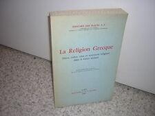 1969.la religion grecque / Edouard des Places.Grèce antiquité.bon ex non coupé